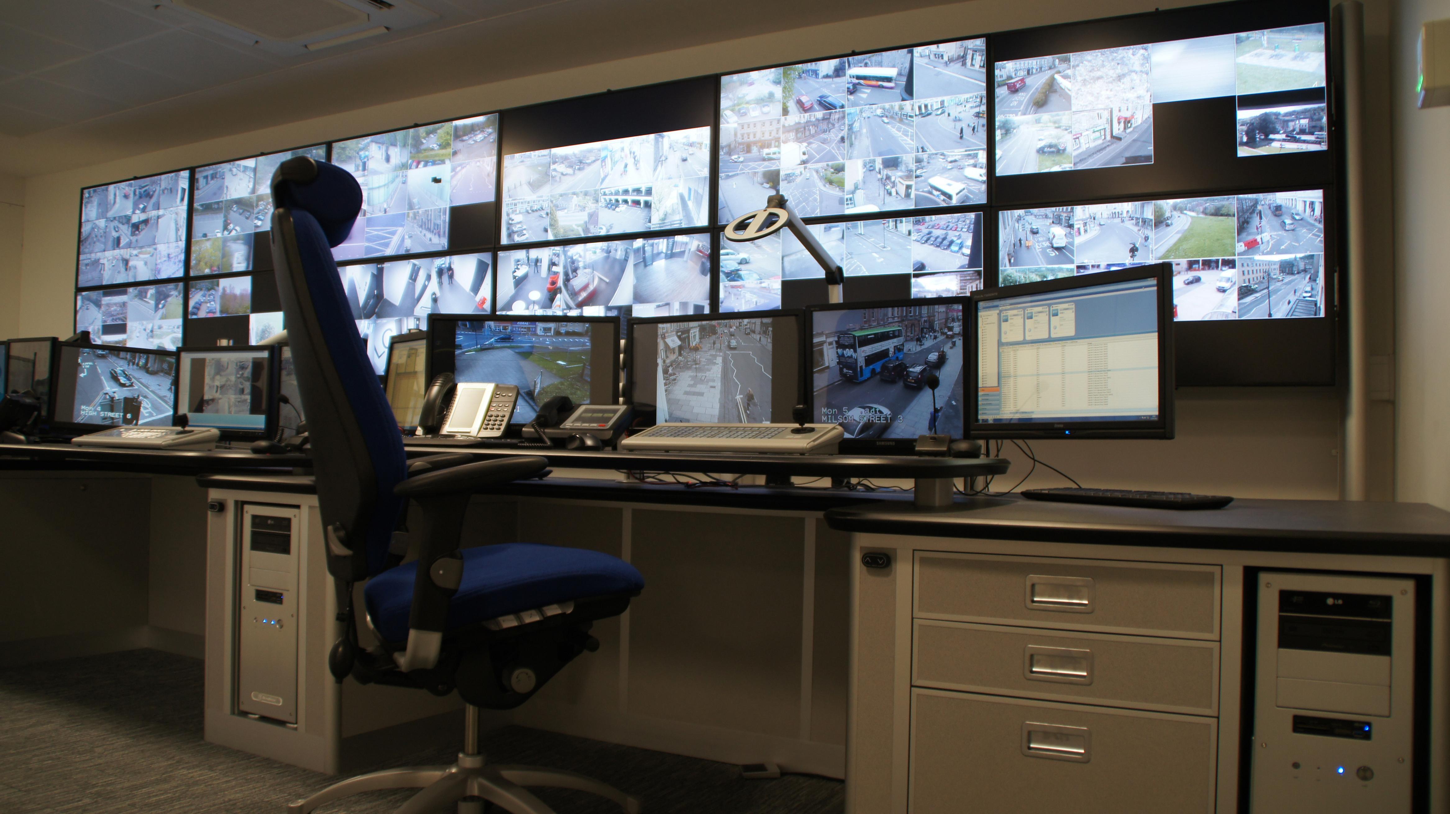 New CCTV Control Room For Bath Amp NE Somerset Council