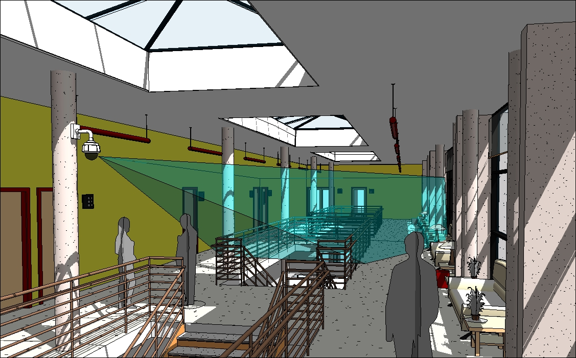 Axis camera for 3d construction design software