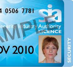 Sia Door Badge Amp Id Armband Sia Security Door Supervisor