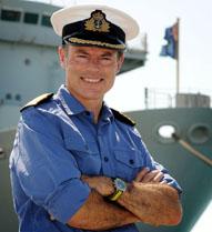 IN Situ portrait of Captain Northwood RN