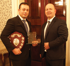 Basil Hamouiah is the 2016 hotel security officer of the year,
