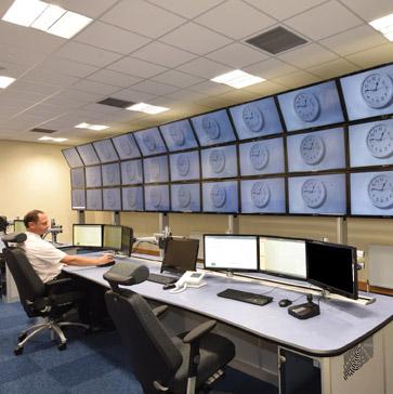 Furniture for CCTV hub