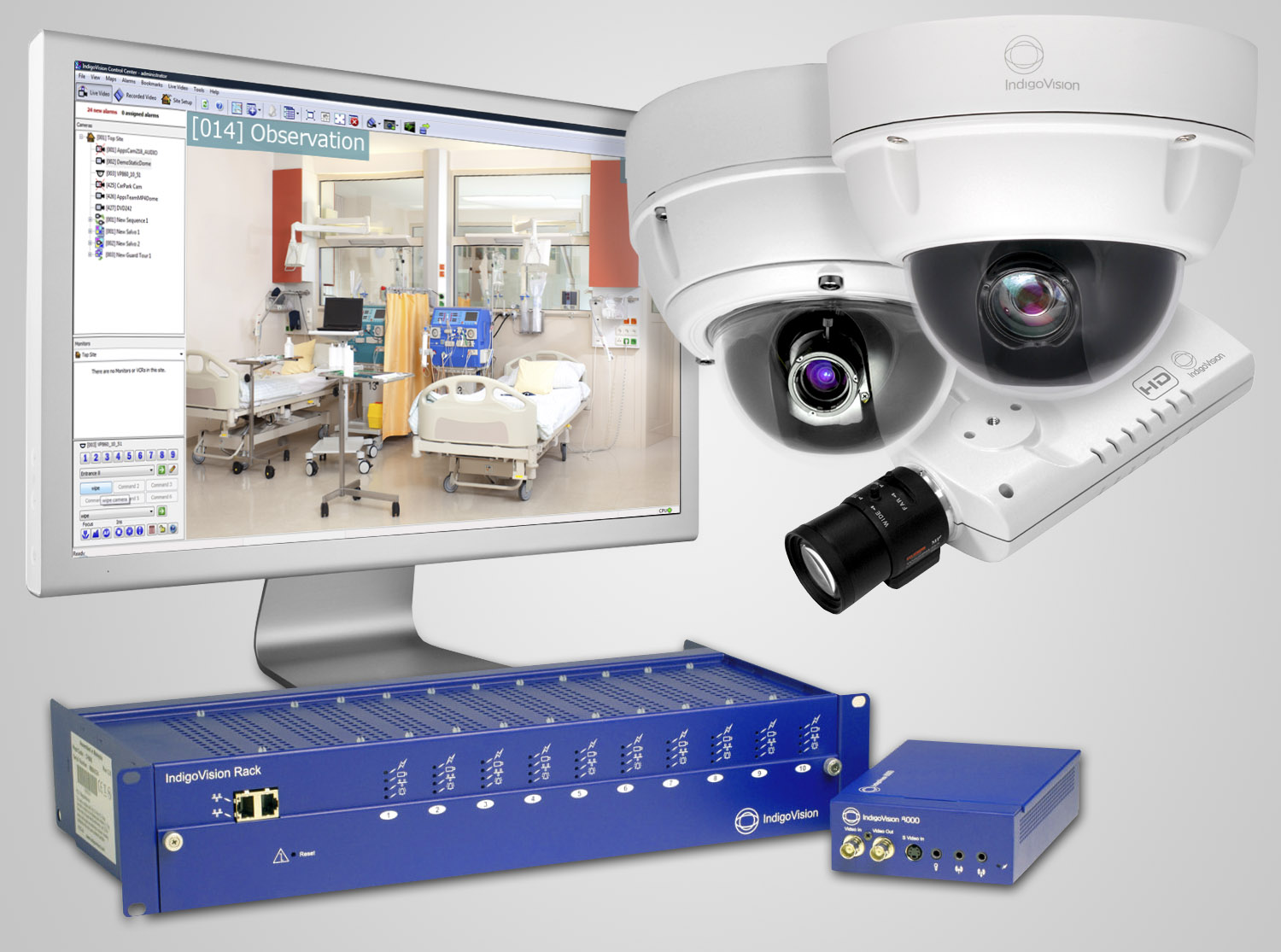 Health Centre Monitoring Improved With Indigovision