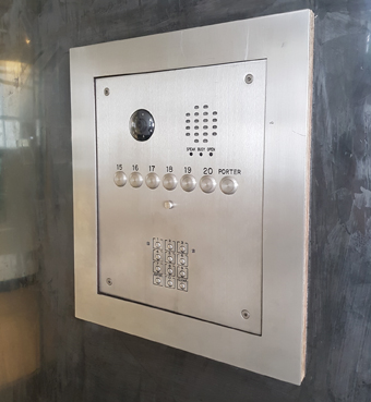 Newly Installed Is A Door Entry Management System At Connaught House Which Provides Private Residential Housing And Commercial Offices In London