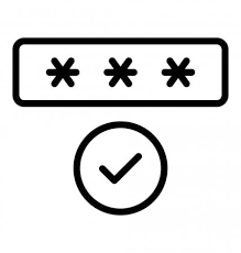 A password approved screen